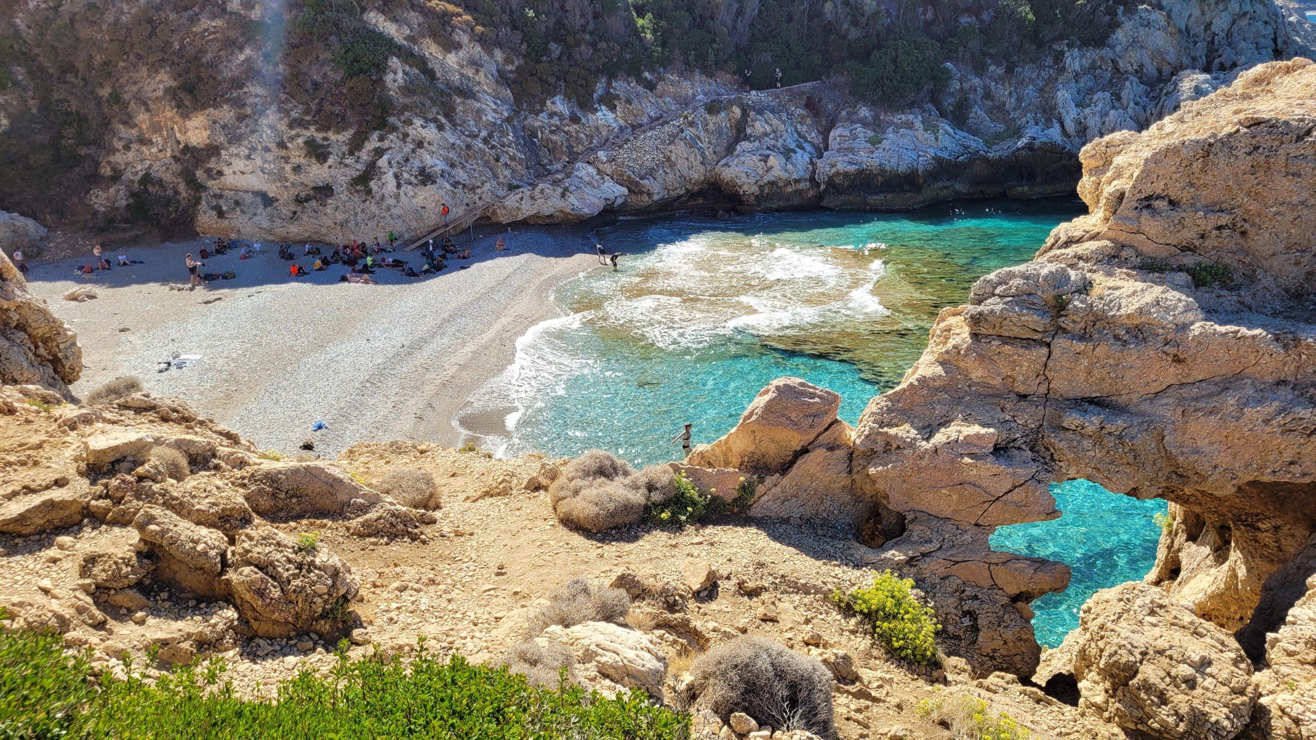 Samos Plaża Mikro Saitani
