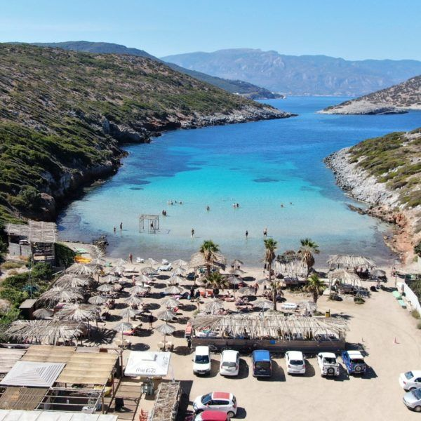 Samos Plaża Livadaki